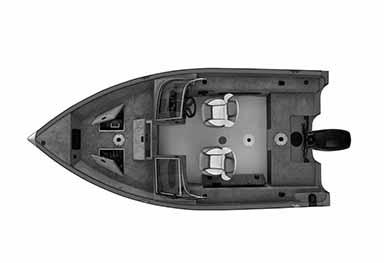 Bateau de pêche ProAngler162XL OH