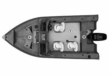 Bateau de pêche ProAngler172 OH
