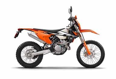 Moto double-usage 250 EXC-F 2017