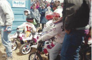 Famille Grégoire motocross