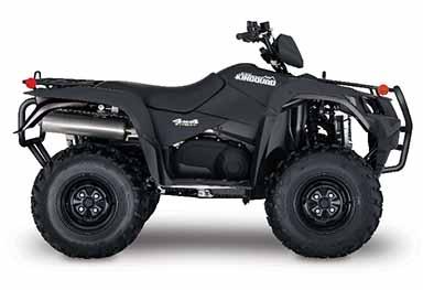 VTT kingquad-750-eps-se-noir-mat-2017