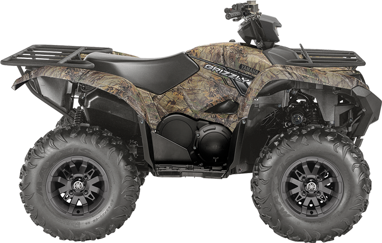 Yamaha grizzly 700 dae camo 2018 gr goire sport for 2018 yamaha grizzly 700 specs
