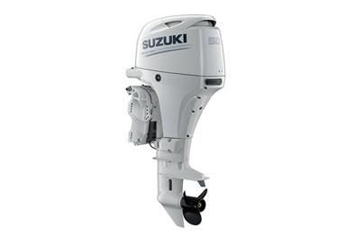 Moteur hors-bord Suzuki DF50 blanc
