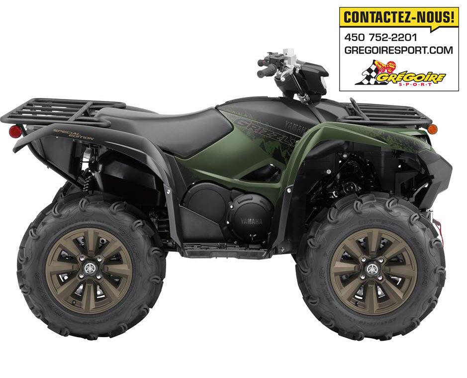2021 Yamaha Grizzly 700 Eps Se Grégoire Sport