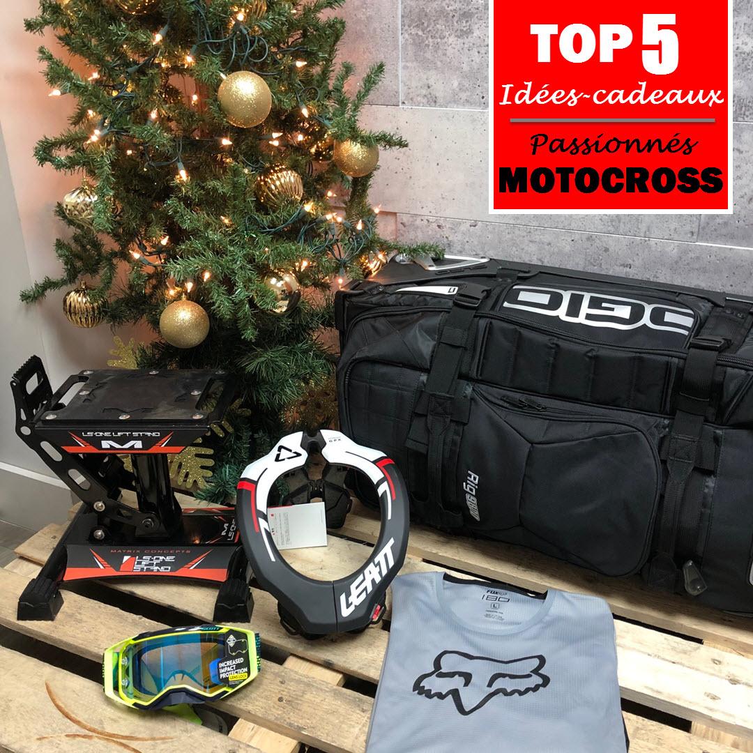 idées-cadeaux pour les passionnés de motocross