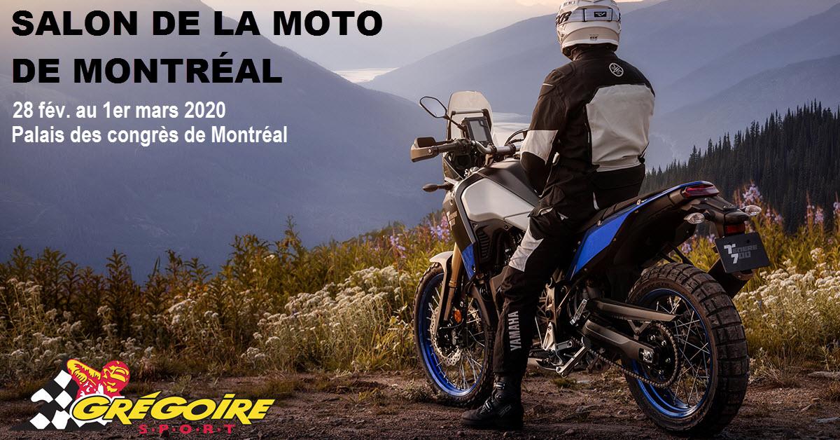 Salon de la moto de montréal 2020