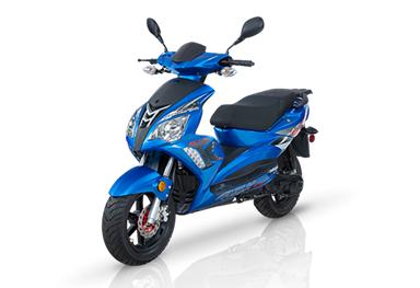 Scooter Adly GTA-50 Bleu