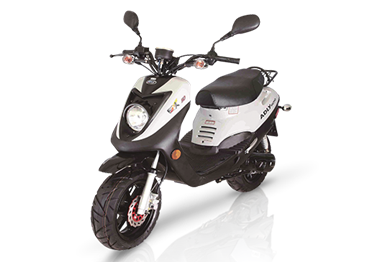 scooter adly GTC-50 blanc