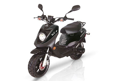 scooter adly GTC-50 noir